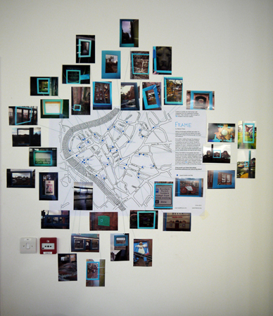 Map of all installed frames.