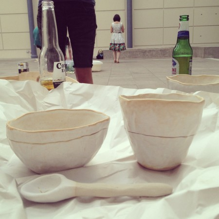 Cup, bowl, spoon by NADFLY