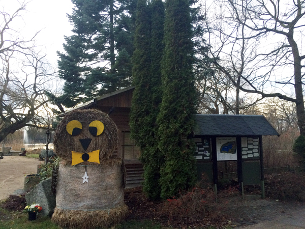 22.Dec: Emile (8 years), Wildlife Park, Greifswald, Germany -